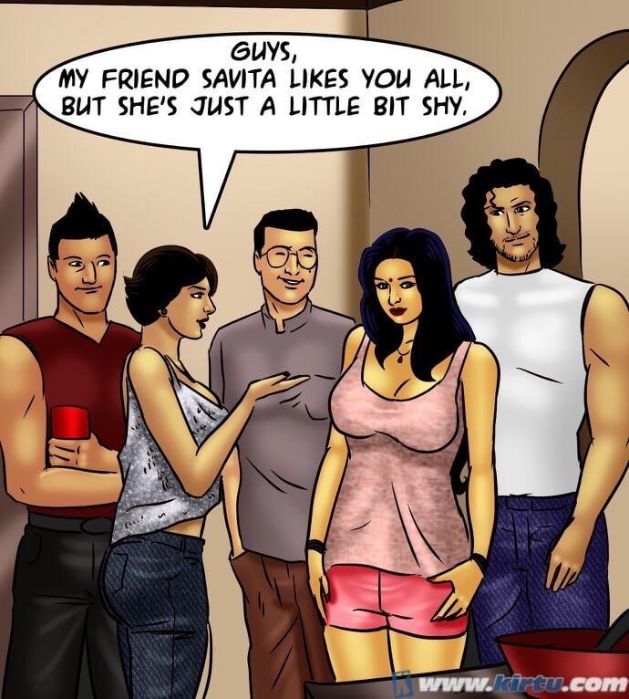 savita Bhabhi 72- savita 失 彼女の mojo - 部分 6