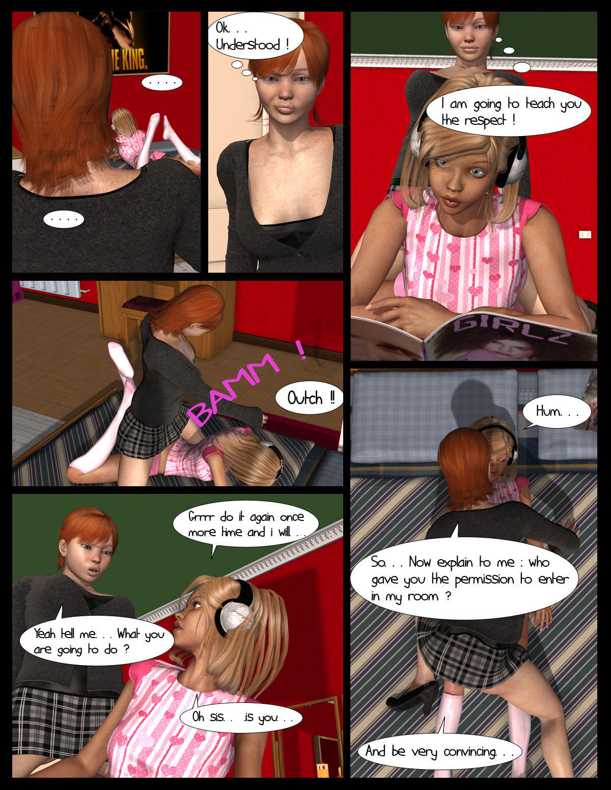 Lesbian chronicles Part 1- Pinkparticles