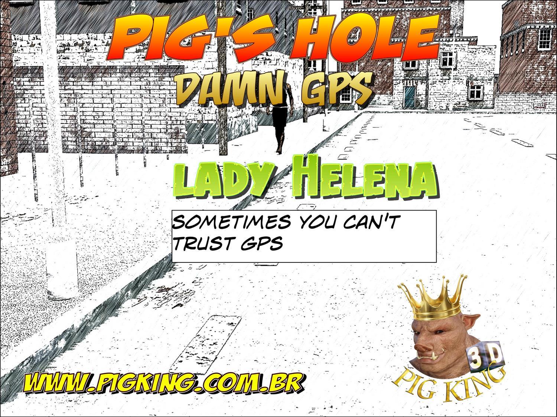 Pig\'s hole Damn GPS- Pig King