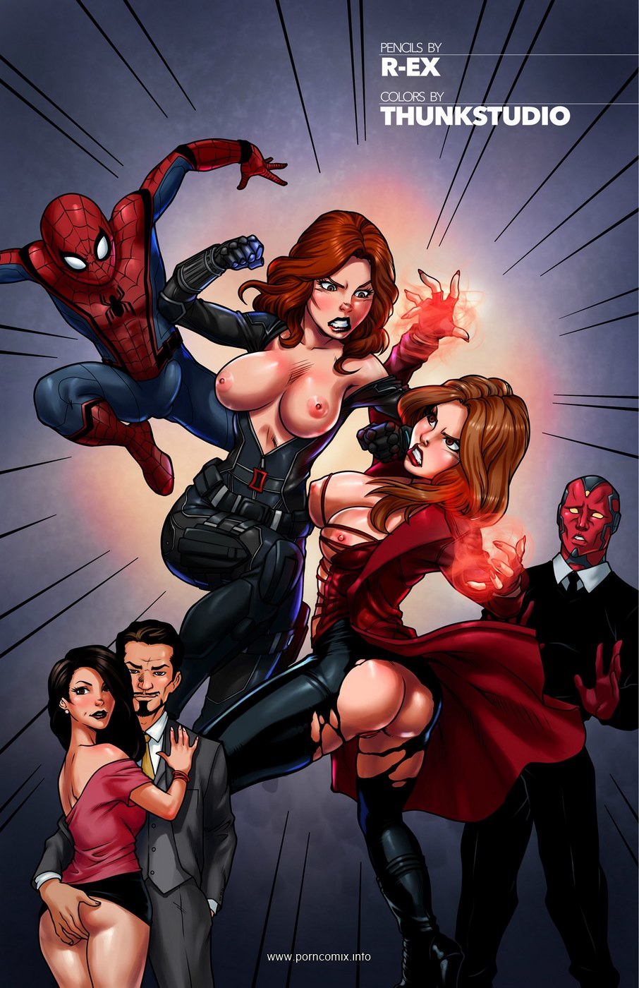 Spiderman Civil War- Tracy Scops