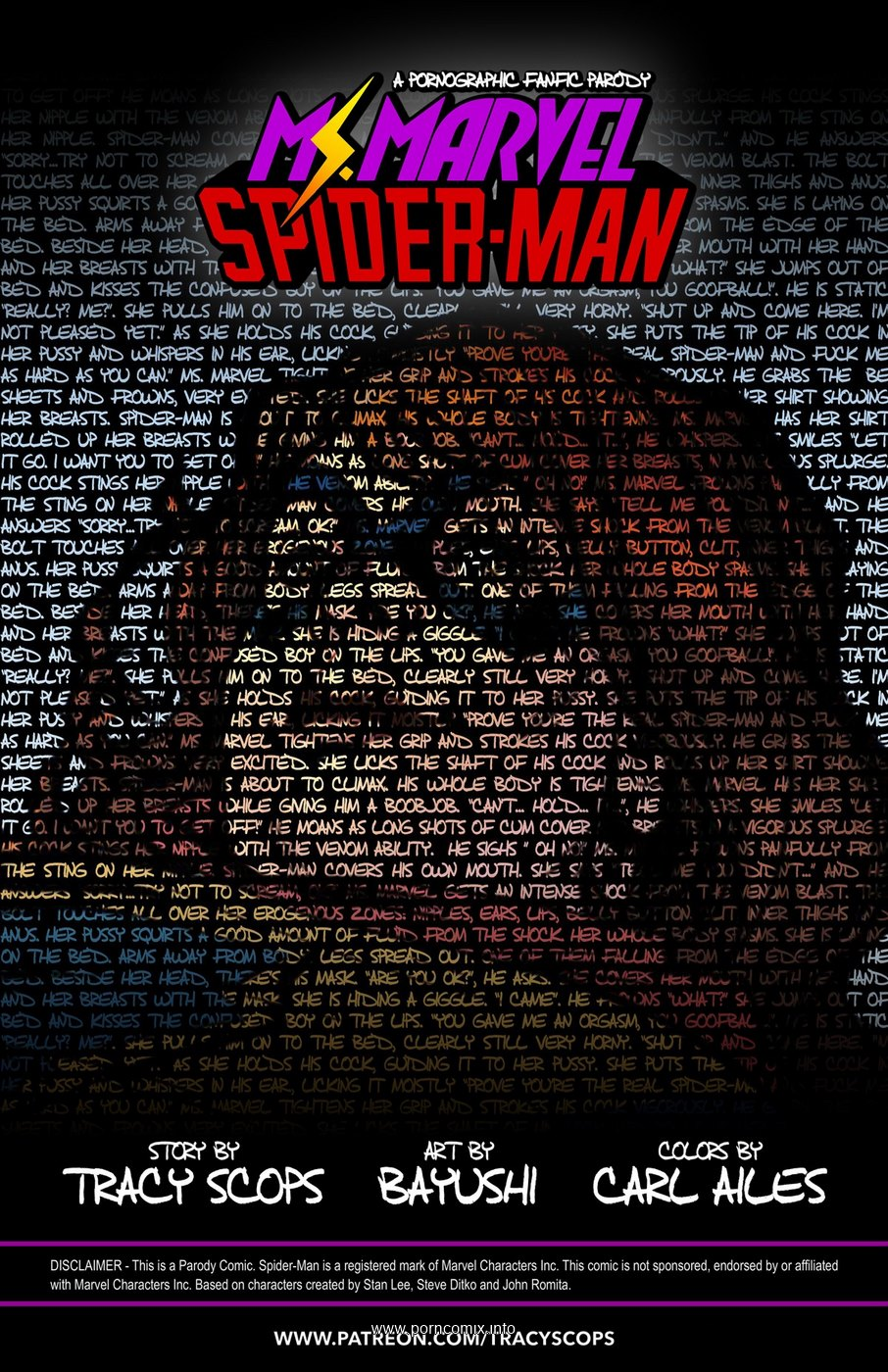 miss Marvel spiderman Tracy assiolo