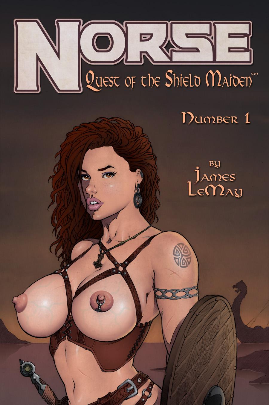 노르웨이 - 퀘스트 의 이 Shield maiden