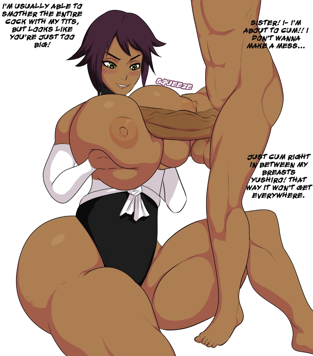 Jay Marvello- Yoruichi and Yushiro