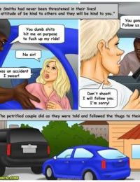 Interracial Comic – Paying the Damage