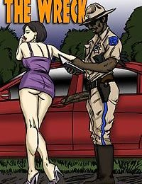illustrated interracial- The Wreck