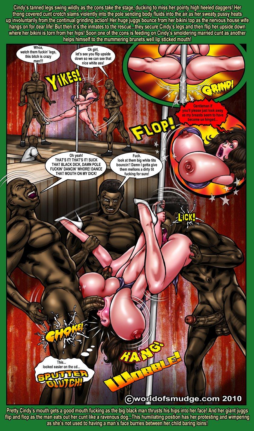 Smudge- Black Cock Actions - part 2
