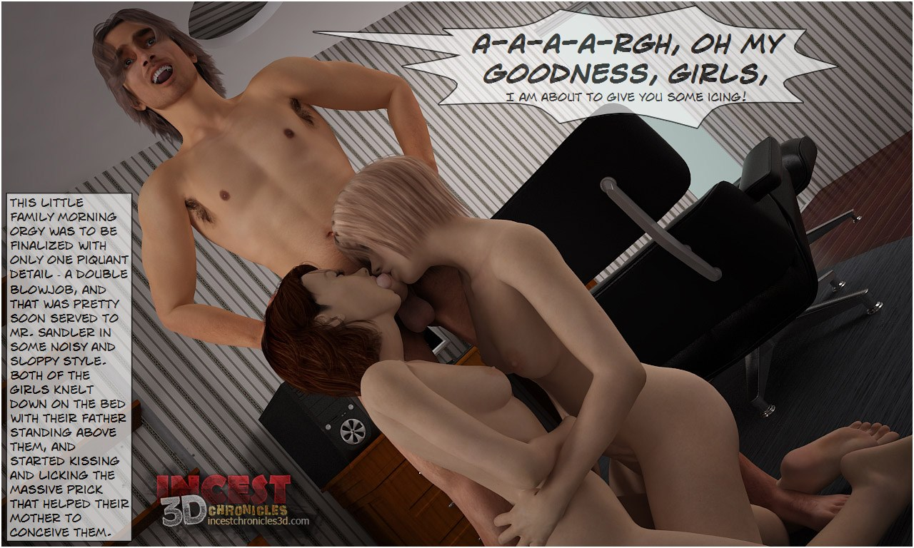 Daddy\'s Birthday- IncestChronicles3D - part 5