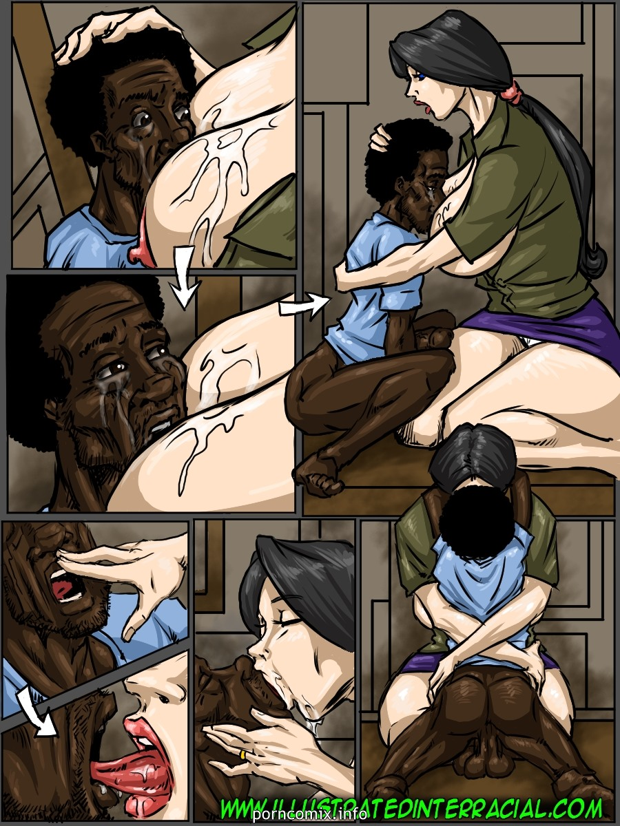 No Words-Illustrated interracial