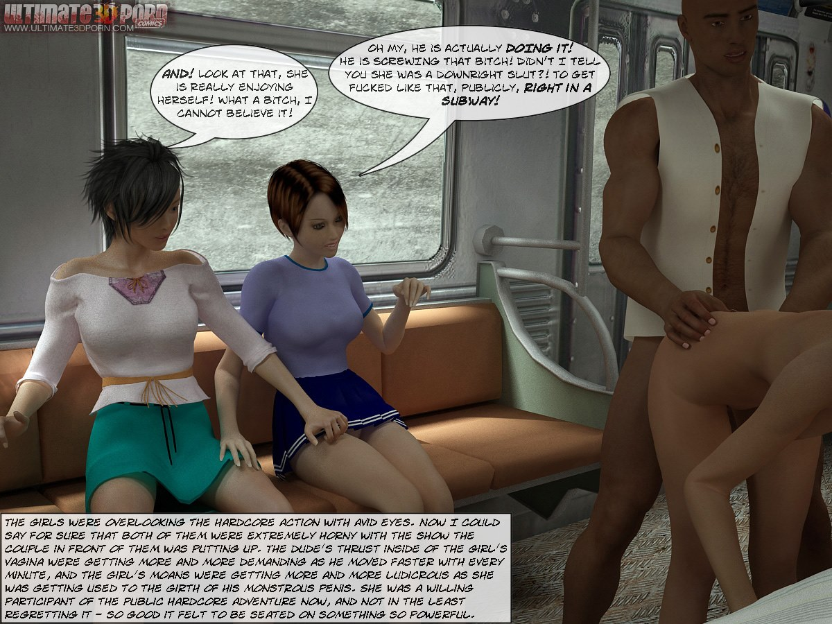 Sex In Subway- Ultimate3DPorn - part 2