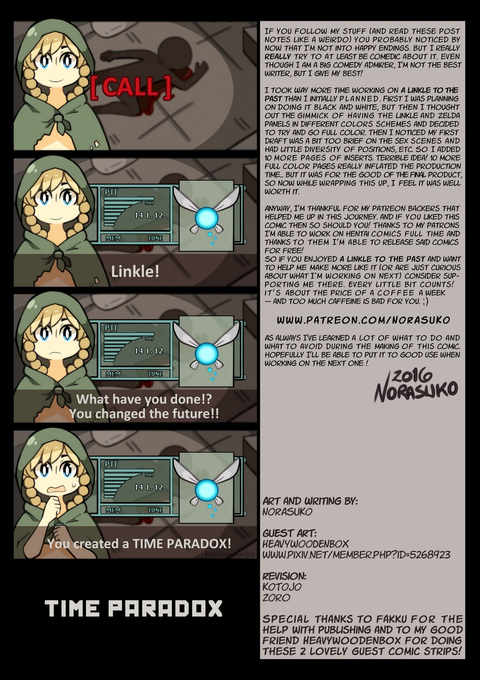 A Linkle to the Past (The Legend of Zelda) - part 2