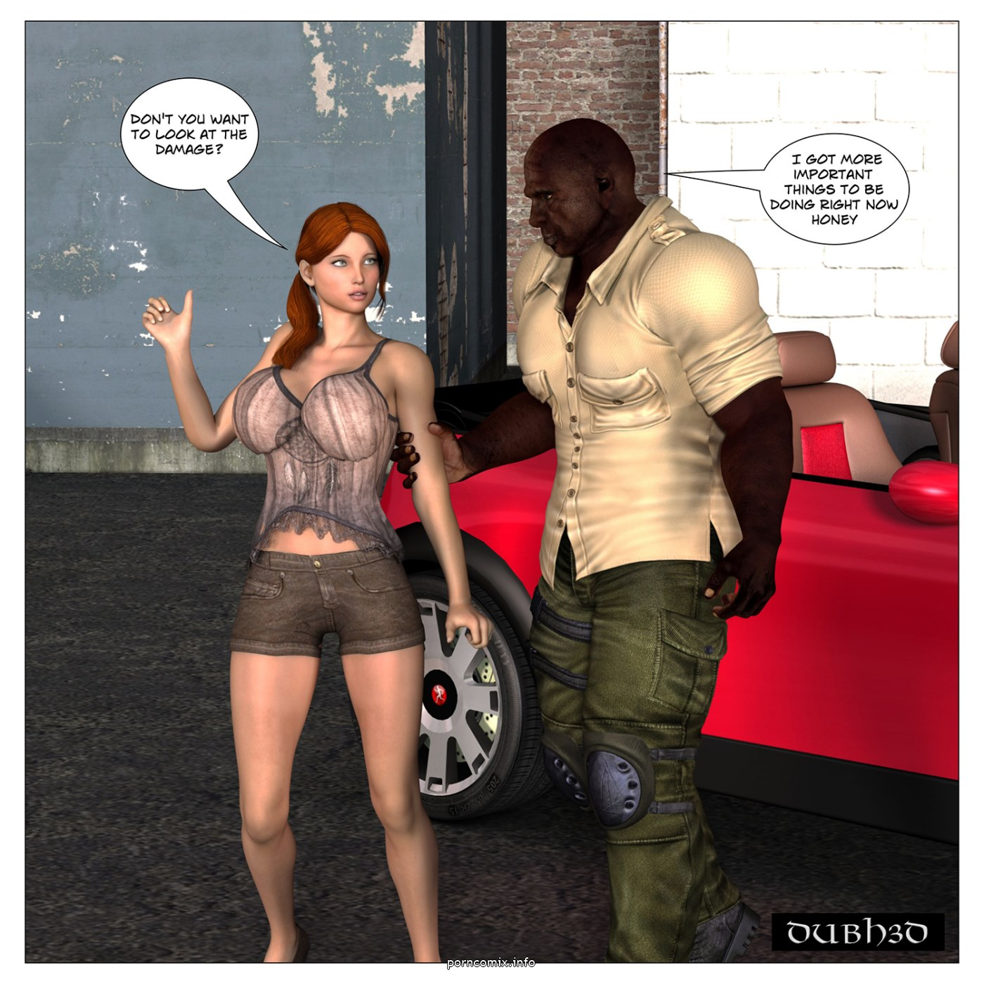 Red- Car Trouble Chapter One,Dubh3D