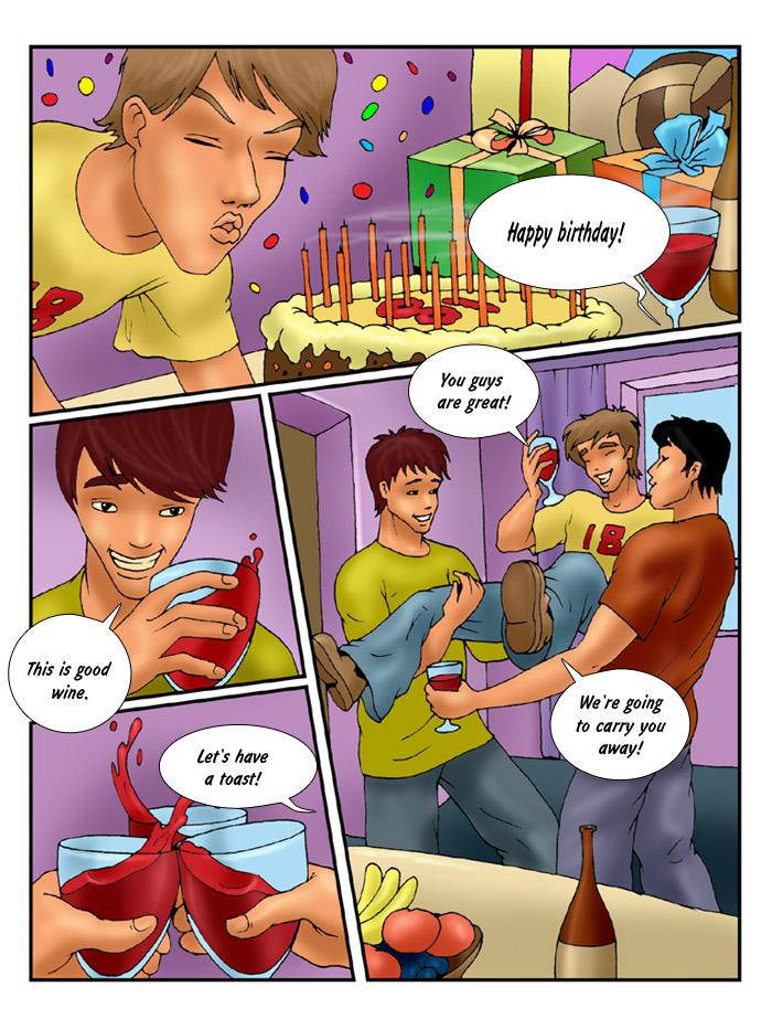 Surprise Birthday Whores
