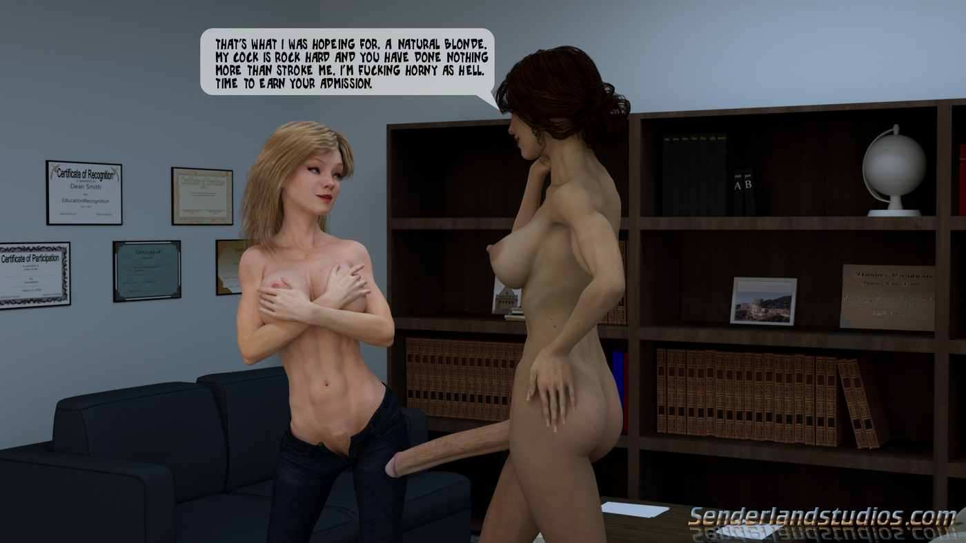 Dedra\'s Story- The Office - part 2