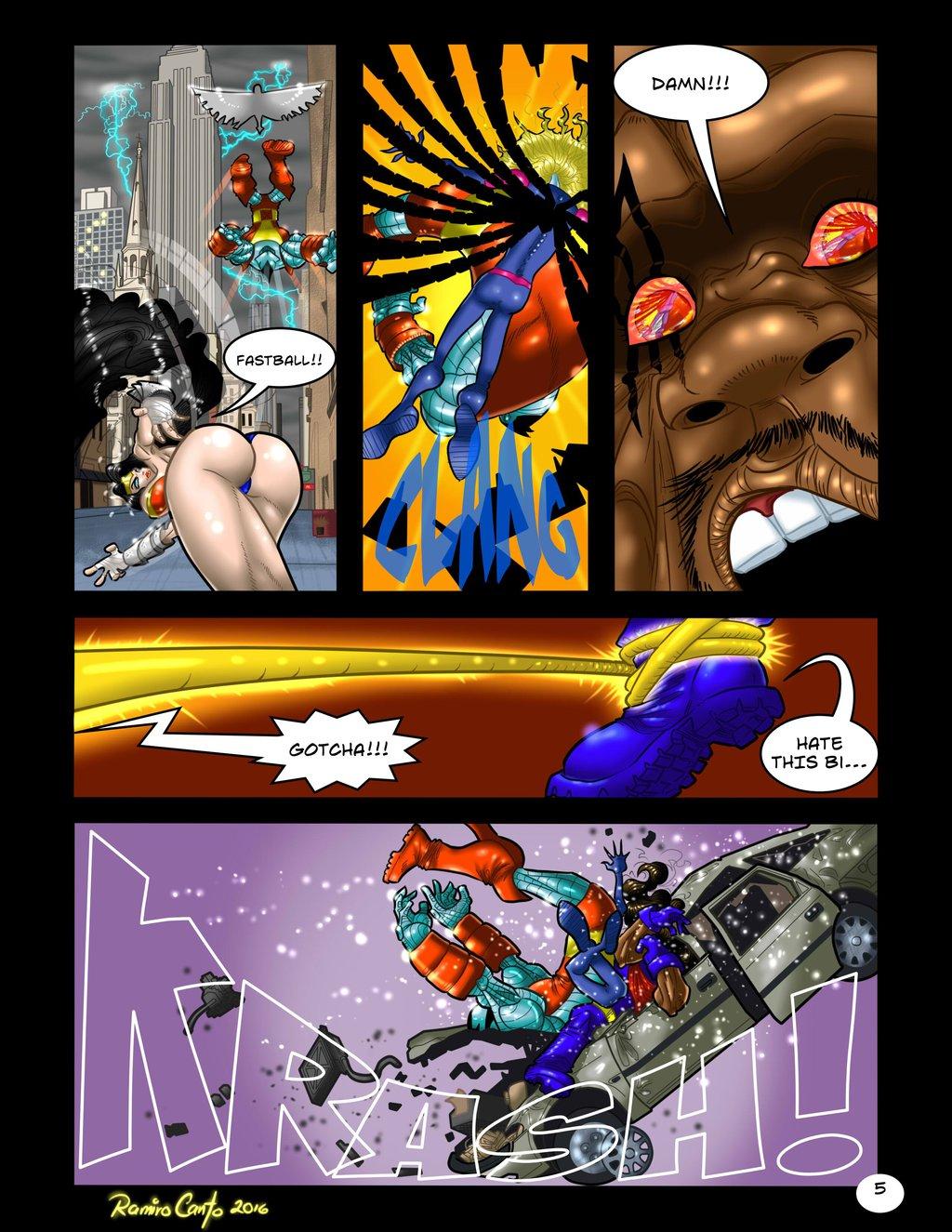 Wonder Woman vs Storm- DC vs Marvel