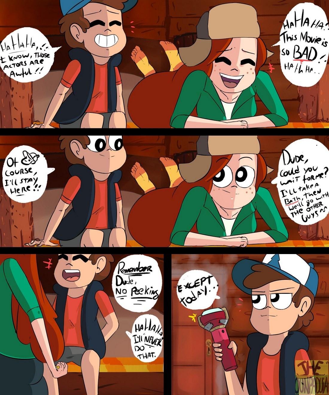 Gravity Falls- Gettin´Dipper
