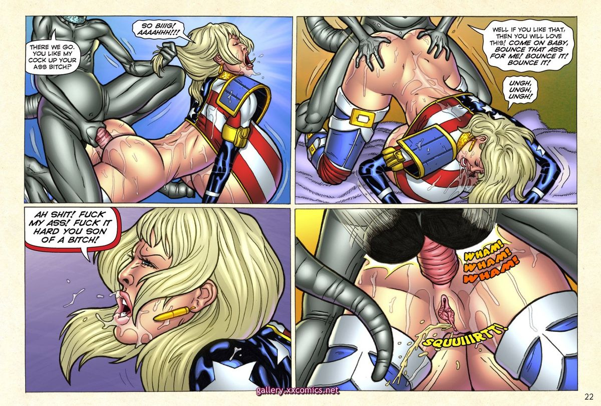 Superheroine Central- Laura Gunn - part 2