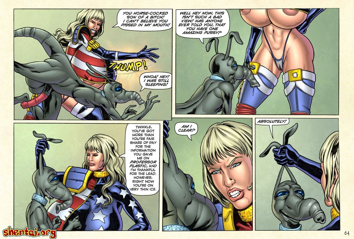 Superheroine Central- Laura Gunn - part 5
