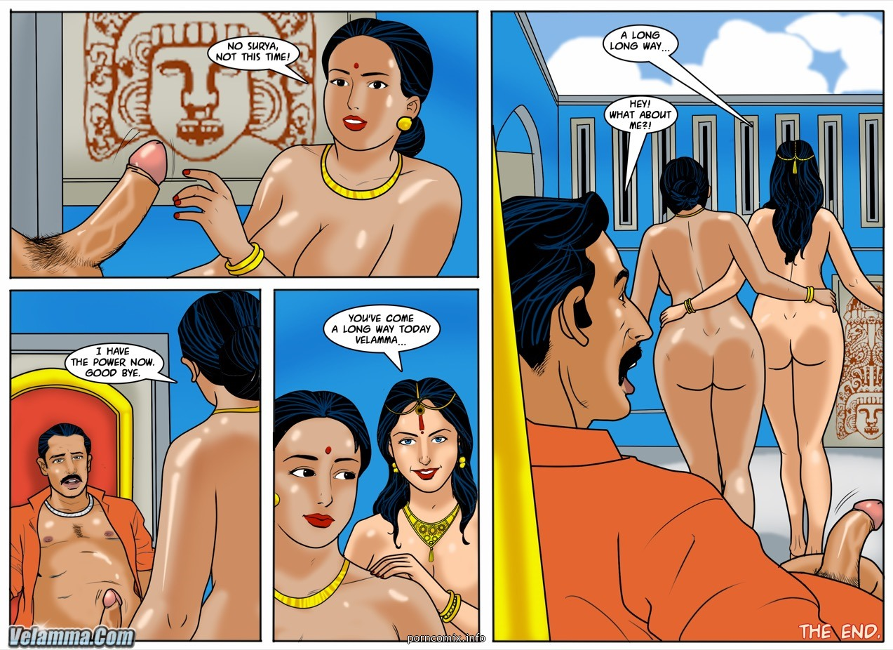 Velamma 59- Godmother - part 2