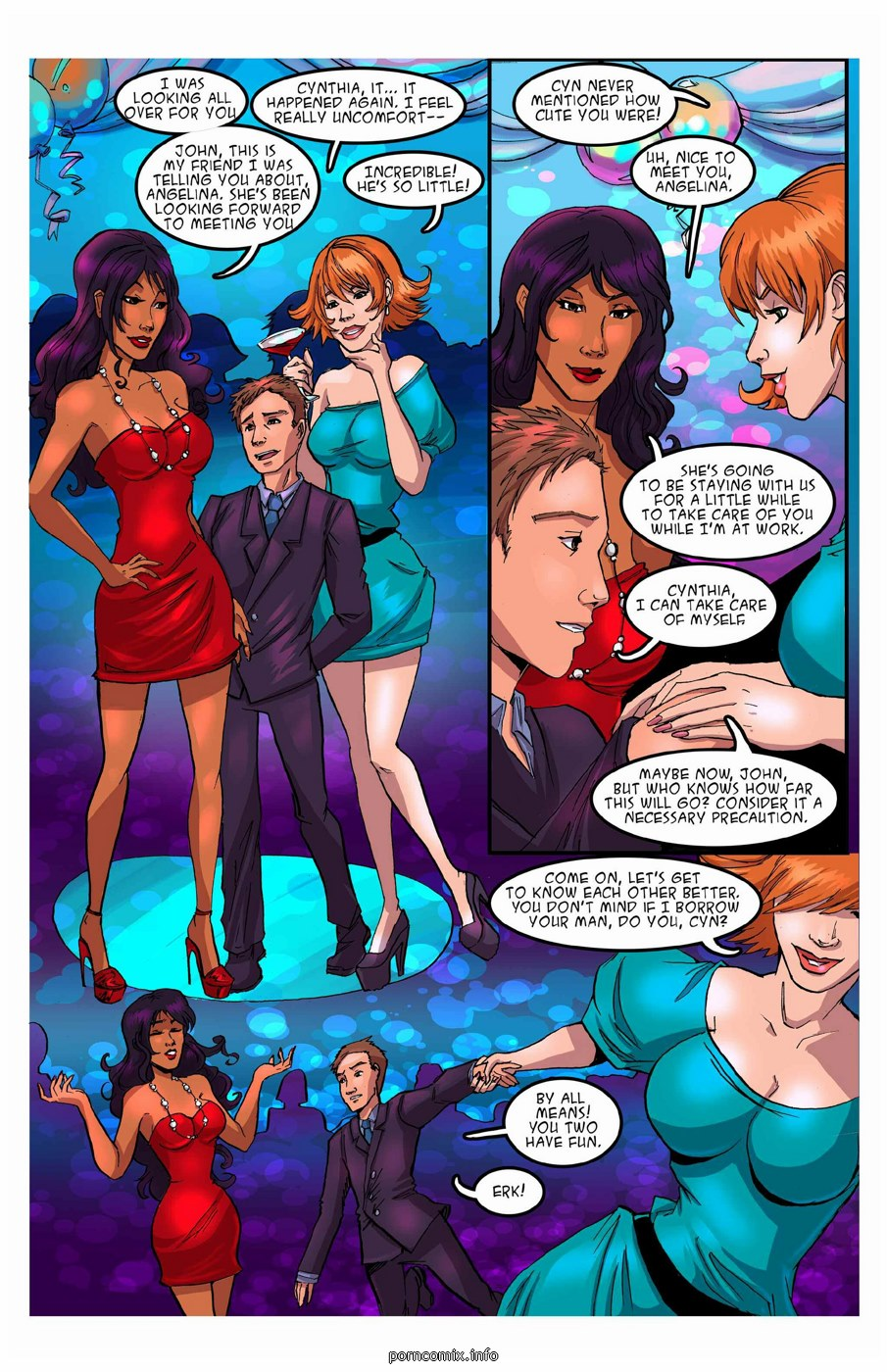 New Life 1-2, Giantess Club - part 2