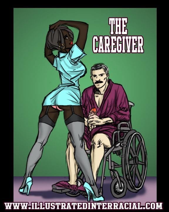 The Caregiver- illustrated interracial