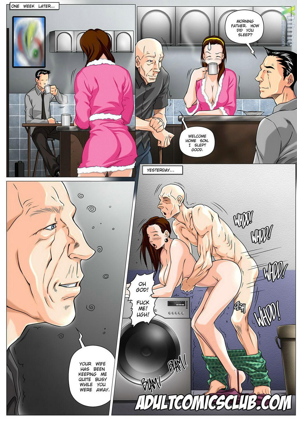 The Horny Step Father- Melkormancin - part 2