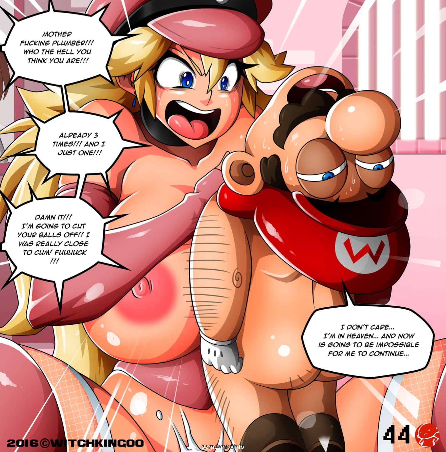 Princess Peach- Thanks You Mario - part 3