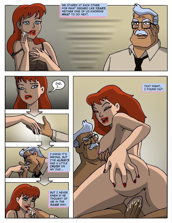 Порно комиксы бэтгерл
