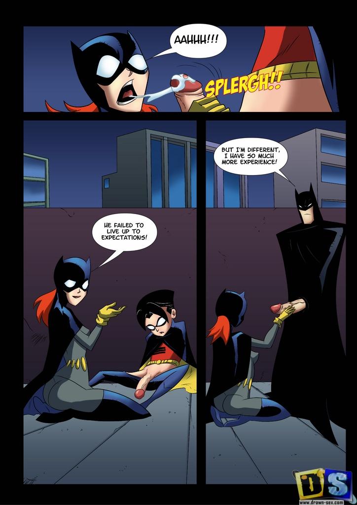 Justice League- Trio Fucks