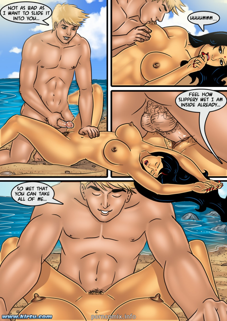 Savita Bhabhi- Sex on the Beach - part 2