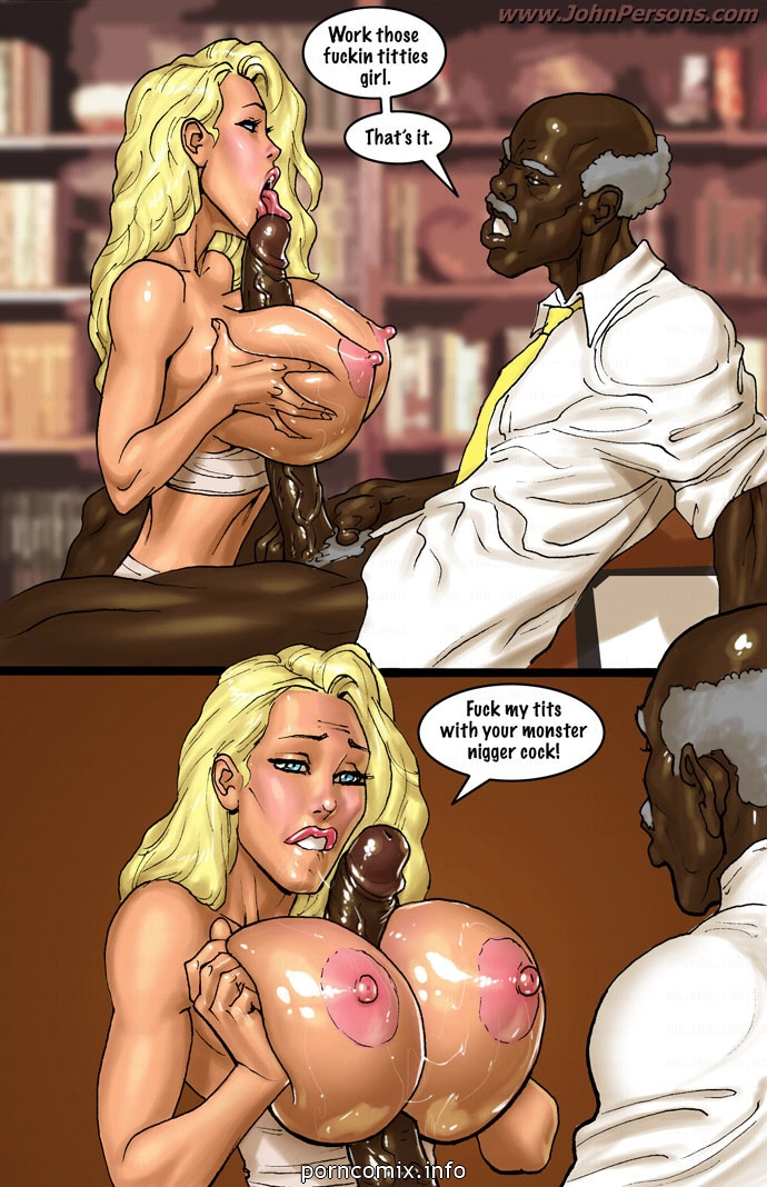 2 Hot Blonde Hunt For Big Black Cocks - part 8