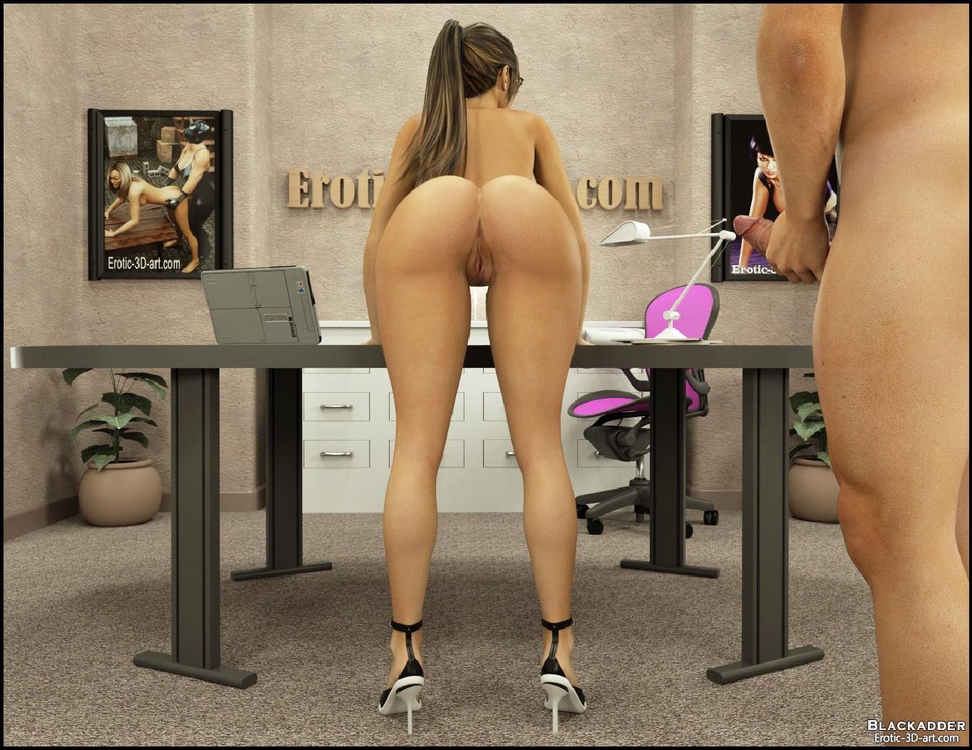 Blackadder- The Office - part 2