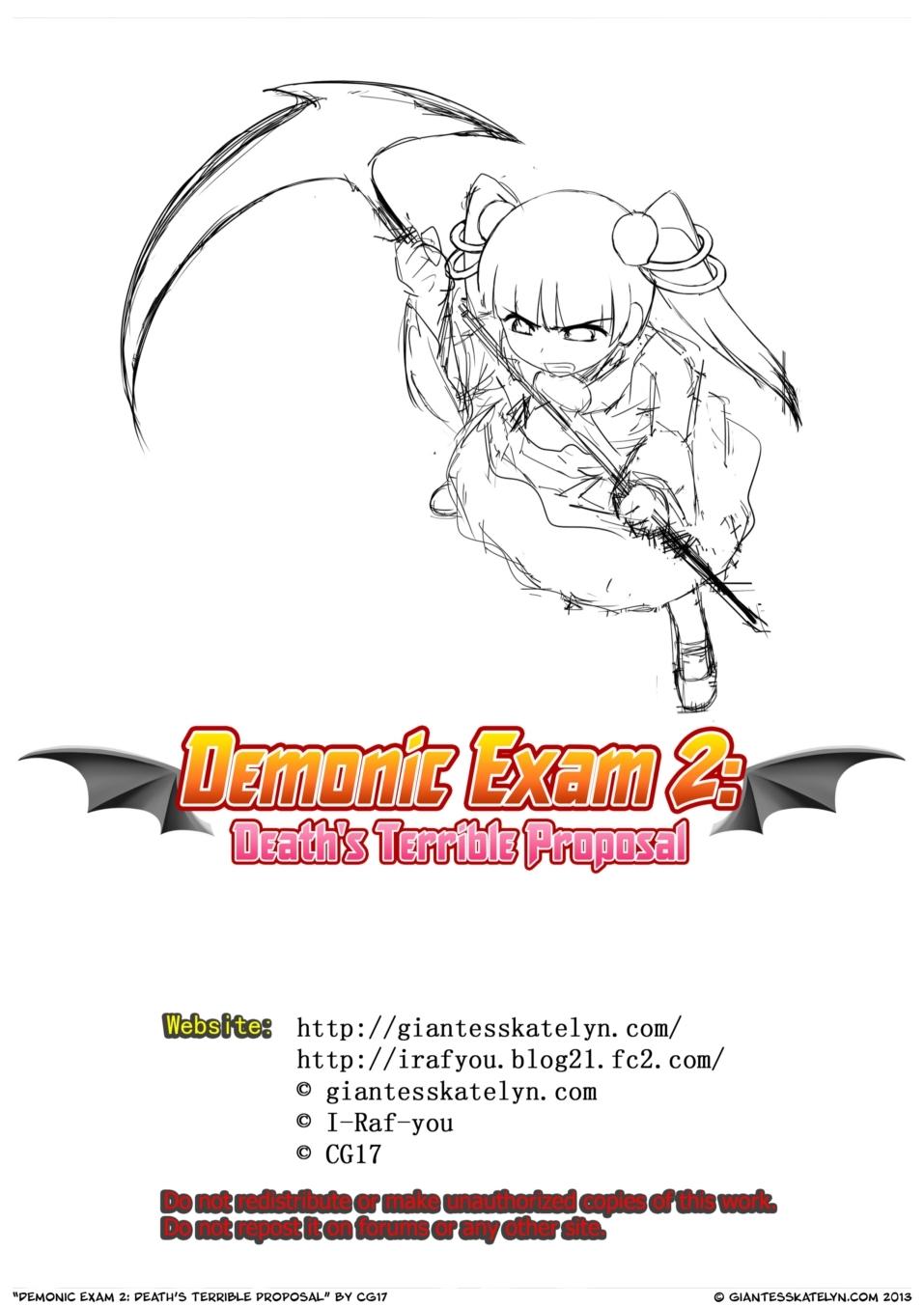 Demonic Exam 2 - part 2