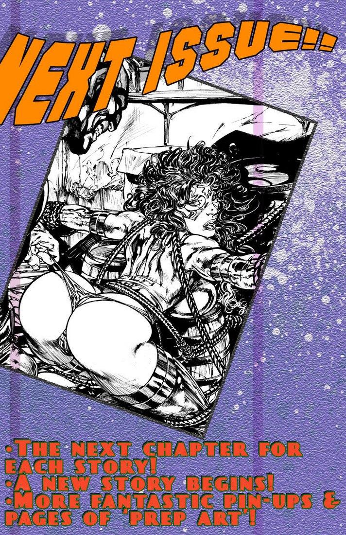 9 Super Heroines - The Magazine 9 - part 3