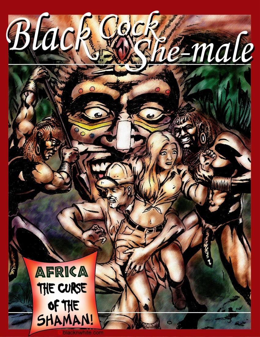 Black cock shemale 1- BlacknWhite