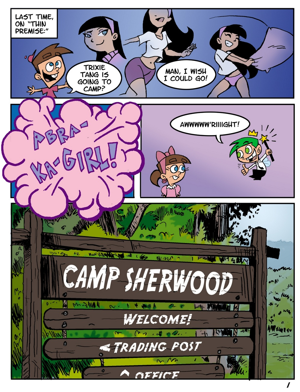 Camp Sherwood [Mr.D] (Ongoing)