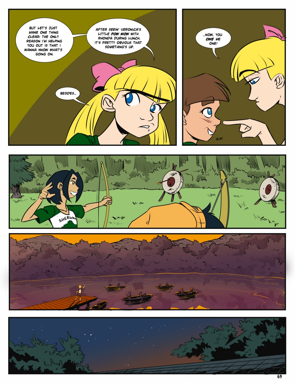 Camp Sherwood [Mr.D] (Ongoing) - part 5