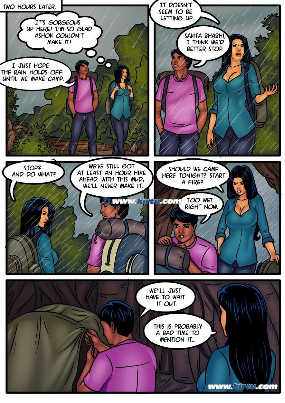 Savita Bhabhi 51 - Camping In The Cold