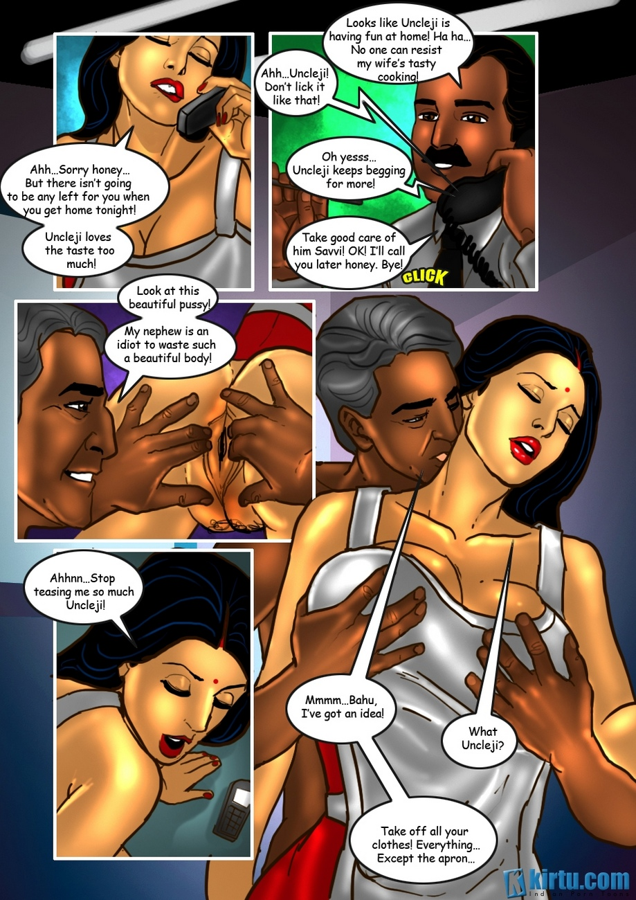 Savita Bhabhi 25 - The Uncle\'s Visit - part 2