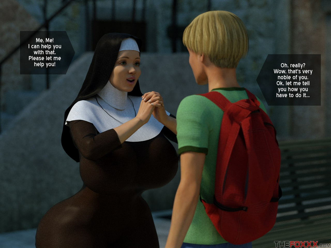 Lily\'s First Day As A Nun