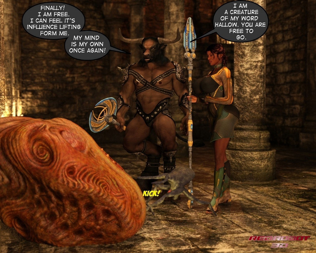 Escape From Lair Of The Minotaur - part 4