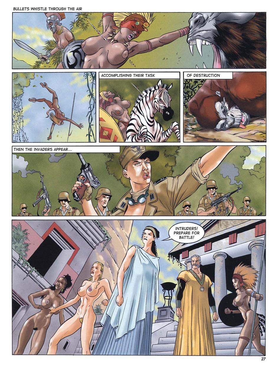 Lara Jones 1 - The Amazons - part 2
