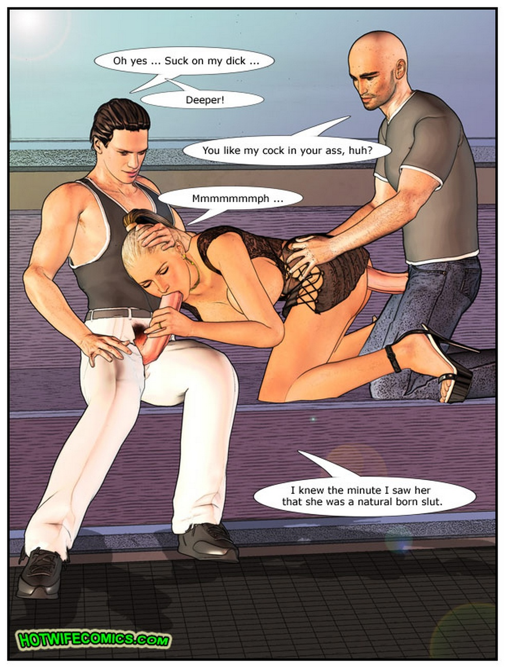 Wife At The Club - part 2