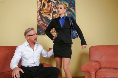 Filthy blonde Jessie Volt gets her asshole fingered and drilled hardcore