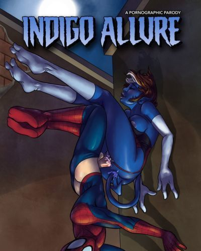 [Sketch Lanza] Indigo Allure (Spider-Man)
