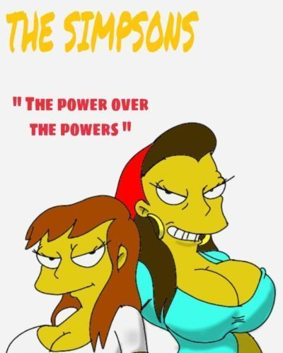 "the simpsons ""the power over the Powers"""