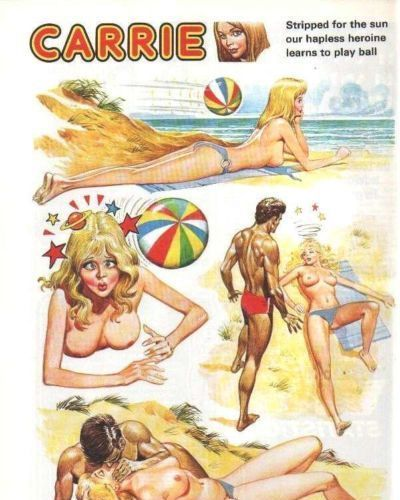 Carrie Carton Girl Strip Complete 1972-1988 - part 3