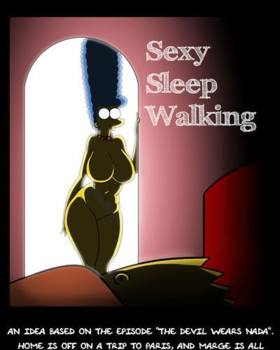 [Kogeikun] Sexy Sleep Walking (The Simpsons)