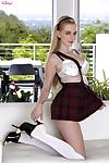 Stacie jaxxx erotic dance off her appealing schoolgirl uniform